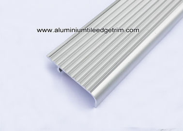 Extruded Grooved Aluminum Stair Nosing With Anti - Slip Protection