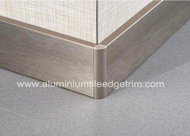 China Tableros que bordean de aluminio Perth/Bunnings del oro Titanium para la protección de borde de la pared fábrica